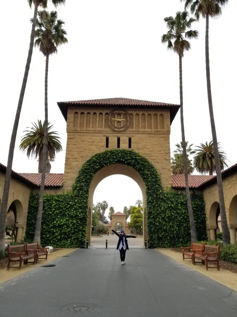 Bangunan di Stanford