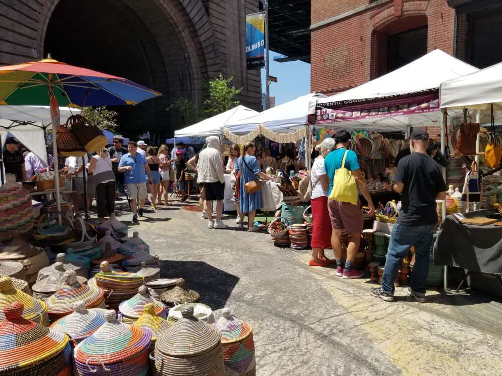 Brooklyn Flea Market, Dumbo, Brooklyn, New York