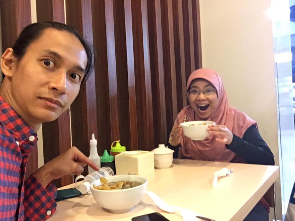 Breakfast at Soekarno-Hatta