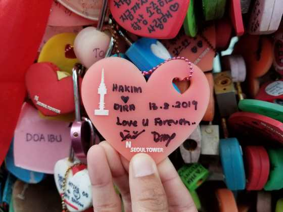 Gembok Cinta Namsan Tower