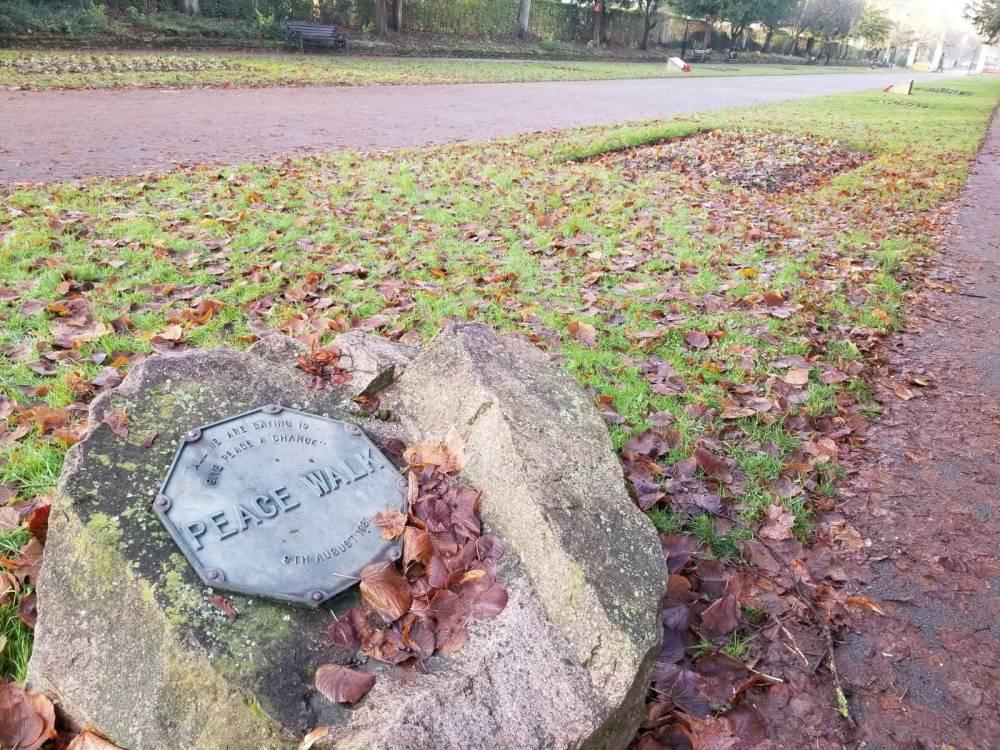 Peace Walk, Victoria Park, Leicester