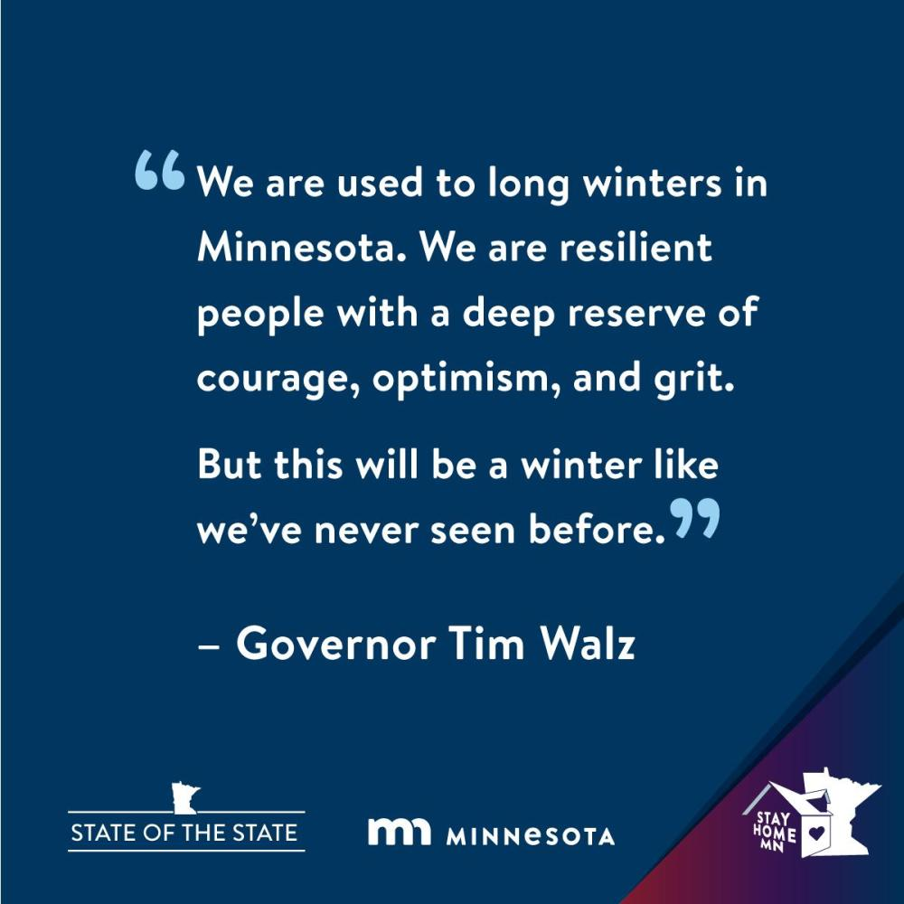 Quote from Governor Tim Walz